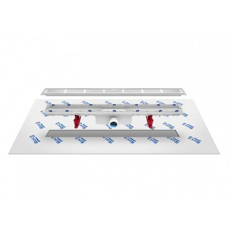 ROCA Caniveau avec tissu géotextile d'étanchéité In-Drain Channel 650X50 - ROCA A276089000