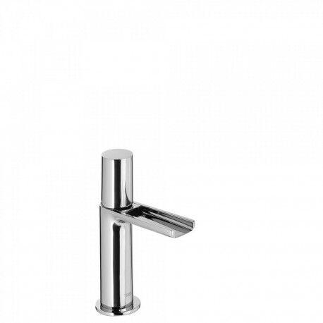 TRES Mitigeur lavabo robinet cascade bec ouvert - TRES 06111001