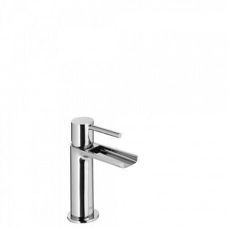 TRES Mitigeur lavabo robinet cascade bec ouvert - TRES 06211001
