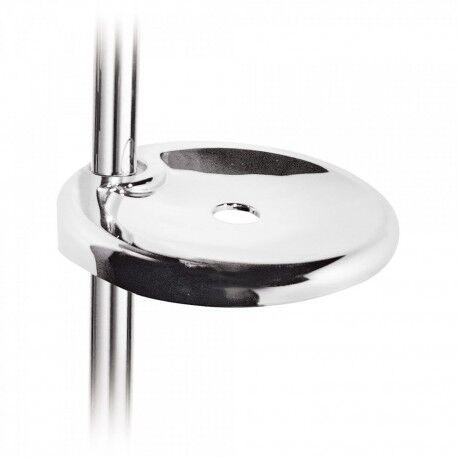 TRES Porte‑savon pour barre coulissante Ø 18 mm. ‑ Ø 24 mm. - TRES 134637