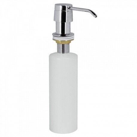 TRES Distributeur de savon en métal À encastrer sur plans de travail. Capacité 0,4 litre - TRES 13474110