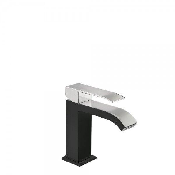 TRES Mitigeur lavabo Noir Chromé - TRES 00610101NE