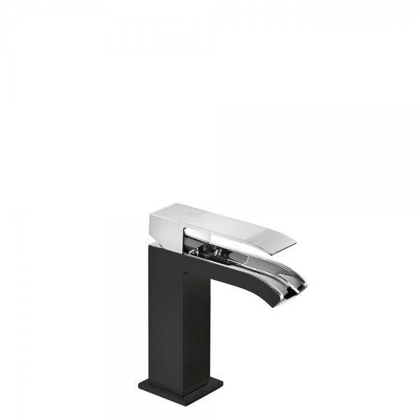 TRES Mitigeur lavabo Noir Chromé - TRES 00611001NE