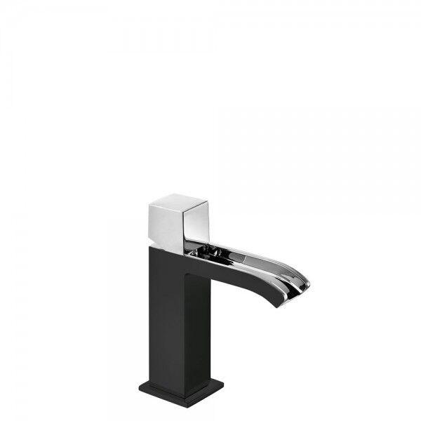 TRES Mitigeur lavabo Noir Chromé - TRES 00611002NE