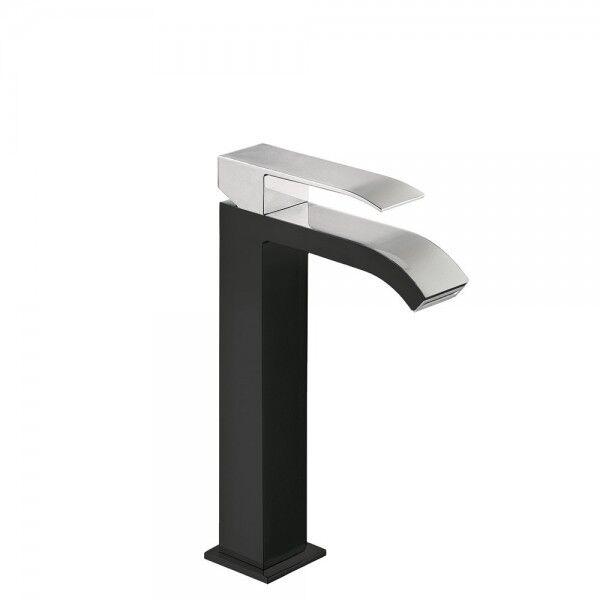 TRES Mitigeur lavabo Noir Chromé - TRES 00661001NE