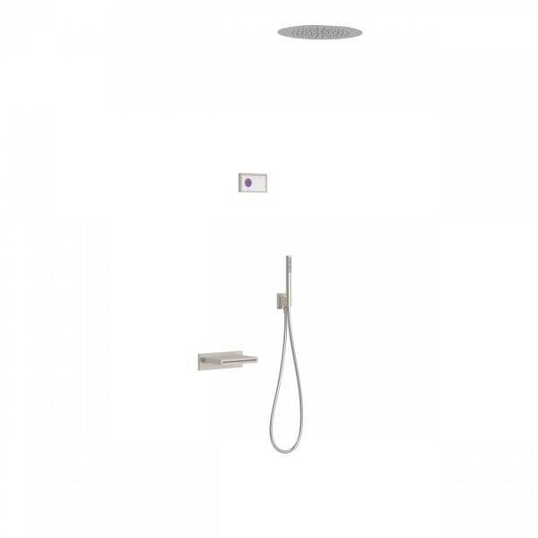 TRES Kit de baignoire thermostatique électronique et encastré SHOWER TECHNOLOGY · Con - TRES 09286320AC