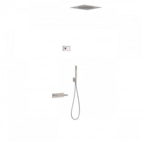 TRES Kit de baignoire thermostatique électronique et encastré SHOWER TECHNOLOGY · Con - TRES 09286315AC