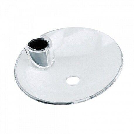 TRES Porte‑savon méthacrylate pour barre coulissante Ø 18, Ø 20, Ø 25 mm. - TRES 913473501
