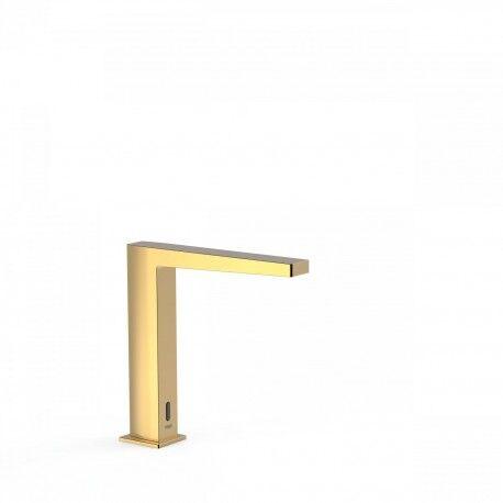 TRES Mélangeur électronique de lavabo Actionné par capteur infrarouge. REMARQUE : Com - TRES 20261302OR