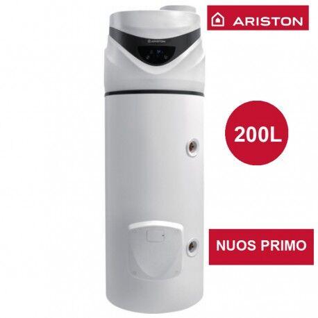 ARISTON Chauffe-eau thermodynamique Nuos Primo - 200 l - Ø 584 mm - ARISTON 3069653