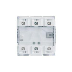 HAGER 2PB KNX LED+IR - APPAREILLAGE MURAL HAGER WXT322 - Publicité