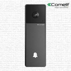 COMELIT Sonnette extérieur wifi Visto Noir - Comelit -KITVISTO - Publicité