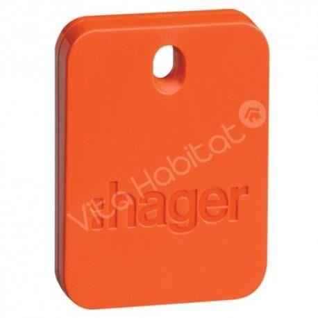 HAGER Badge RLF101X alarme SEPIO - Hager