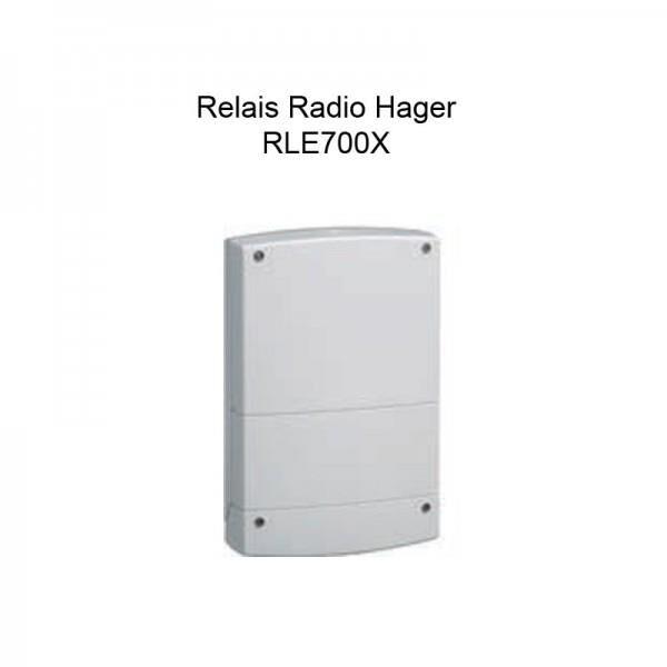 HAGER RLE700X - Relais Radio pour alarme SEPIO - Hager