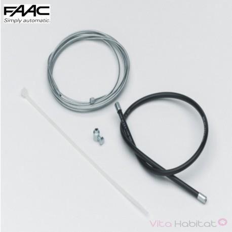 FAAC Câble et gaine pour déverrouillage extérieur FAAC - 390488