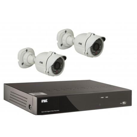 URMET Kit ip 2 cam+1nvr - URMET 1093/KIPPRO
