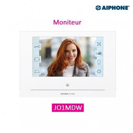 """AIPHONE Moniteur maître écran 7"""" avec module Wi-Fi intégré AIPHONE - JO1MDW 130412"""