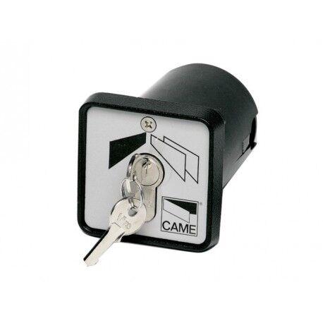 CAME Sélecteur à clé à encastrer avec boîtier et cylindre DIN CAME SET-I