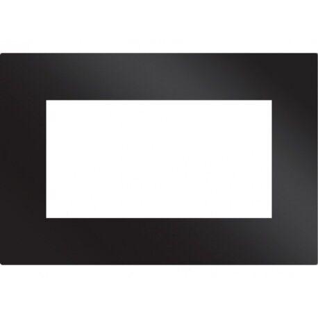 CAME PLV3M BK Plaque noire en verre 3 modules CAME 67900160