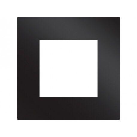 CAME PLV2M BK Plaque noire en verre 2 modules CAME 67900180