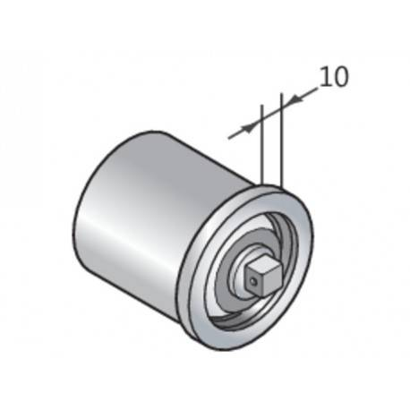 CAME Calotte avec pivot Q10 libre tube 50x15mm CAME YM0046