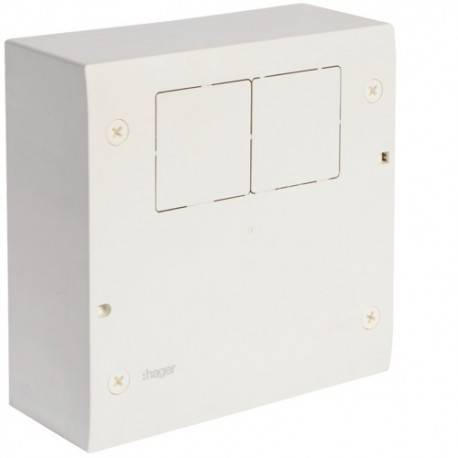 HAGER Tableau fonction audio&telecom; - SYSTEMES VDI HAGER VD02T