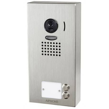 AIPHONE Platine de rue JO2DV 2 touches pour portier vidéo AIPHONE - en saillie - 130408