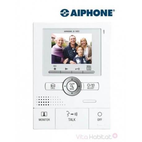 AIPHONE Moniteur principal couleur mains libres JK1MED - Mémoire d'images - Grand angle et zoom - AIPHONE - 130207