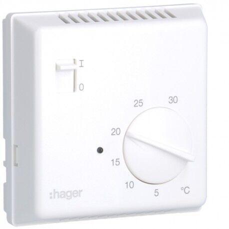HAGER Thermostat bi-métal 1O - GEST CHAUF EAU CH HAGER 25615