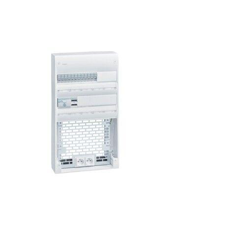 HAGER Coffret VDI 2R-36M+PL Gr3TV - SYSTEMES VDI HAGER TN435