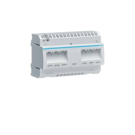 HAGER Switch DIN 8 ports (4 POE) - SYSTEMES VDI HAGER TN530