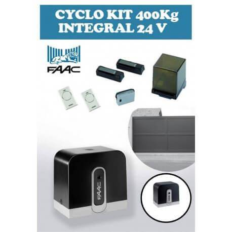 FAAC Motorisation Portail Coulissant FAAC CYCLO KIT Intégral 400 kg 24V (C720) 105999144