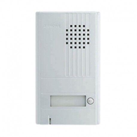 AIPHONE PLATINE ALU SAILLIE 1BP Accessoire portier individuel DA1DS - Aiphone 110538
