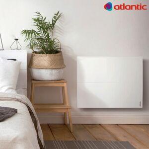 ATLANTIC Radiateur chaleur douce ATLANTIC - Sokio Digital horizontal 1250W Blanc 503111 - Publicité