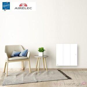 AIRELEC Radiateur electrique Fonte AIRELEC - OZEO Smart ECOcontrol 750W Horizontal Blanc - A693482 - Publicité