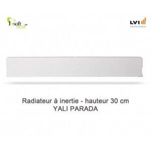 LVI Radiateur électrique LVI - YALI Parada Plinthe 1000W - inertie fluide (haut.300) 3703102 - Publicité