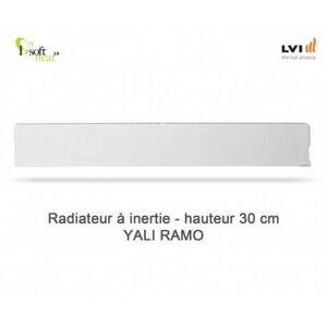 LVI Radiateur électrique LVI - YALI Ramo Plinthe 750W - inertie fluide (haut.300) 3713082 - Publicité