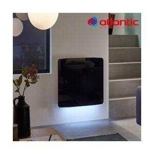 ATLANTIC Radiateur électrique Atlantic DIVALI Premium Horizontal Noir 1000W Lumineux - 507645 - Publicité