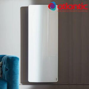 ATLANTIC Radiateur électrique Atlantic DIVALI Premium Vertcial Blanc 1500W Lumineux - 507640 - Publicité