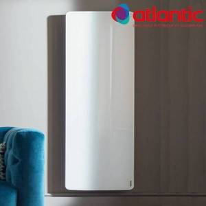 ATLANTIC Radiateur électrique Atlantic DIVALI Premium Vertcial Blanc 2000W Lumineux - 507641 - Publicité