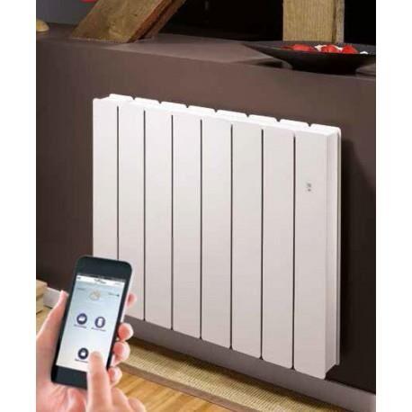 NOIROT Radiateur Fonte NOIROT - BELLAGIO Smart ECOControl 2500W Horizontal Blanc N1688SEFS