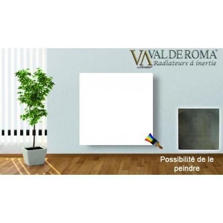 VALDEROMA Radiateur à inertie Touch Silicium Blanc Cachemire Mimetic 800W Horizontal - Valderoma BC0800T