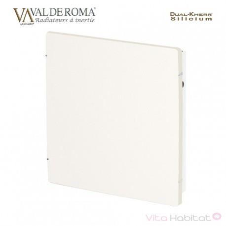 VALDEROMA Radiateur à inertie Wifi Blanc Cachemire 800W Carré - Valderoma BC0800W