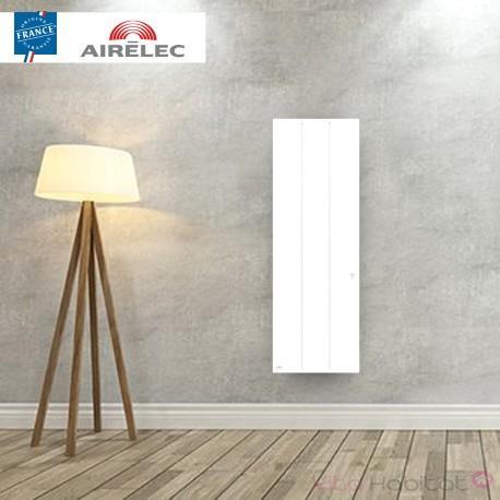 AIRELEC Radiateur electrique Fonte AIRELEC - OZEO Smart ECOcontrol 1000W Vertical Blanc - A693493