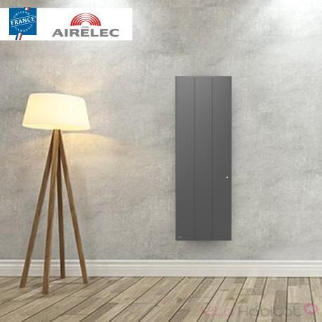 AIRELEC Radiateur electrique Fonte AIRELEC - OZEO Smart ECOcontrol 2000W Vertical Anthracite - A693527