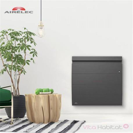 AIRELEC Radiateur Fonte AIRELEC - INOVA 2 Smart ECOControl 2000W Horizontal Gris Anthracite - A693807