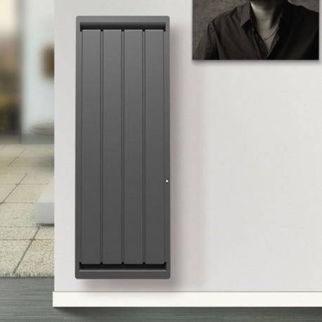 APPLIMO Radiateur electrique Fonte APPLIMO - SOLEIDOU Smart ECOcontrol 2000W Vertical Anthracite 0013767SEHS