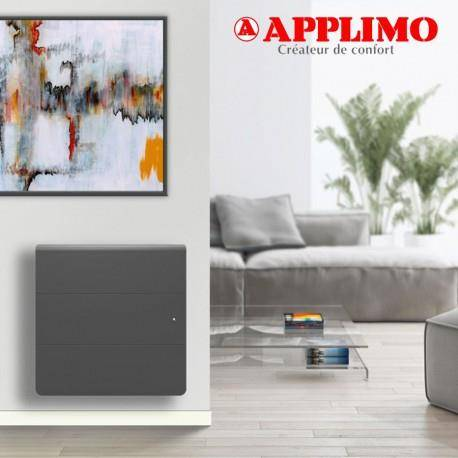 APPLIMO Radiateur Fonte LENA Smart EcoControl 750W Horizontal Gris - APPLIMO 12162SEHS