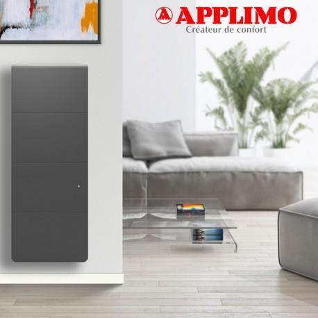 APPLIMO Radiateur Fonte LENA Smart EcoControl 1500W Vertical Gris - APPLIMO 12175SEHS
