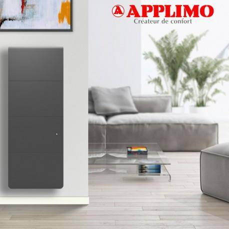 APPLIMO Radiateur Fonte LENA Smart EcoControl 1500W Vertical Gris - APPLIMO 12175SEHS